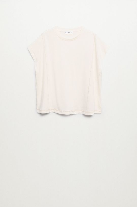 Mango - Bavlněné tričko Spcharo