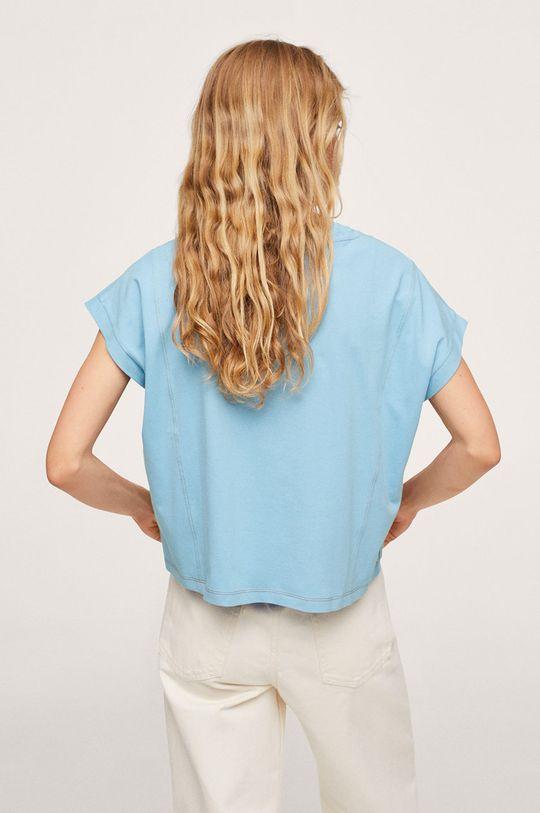 Mango - T-shirt bawełniany Spcharo 100 % Bawełna
