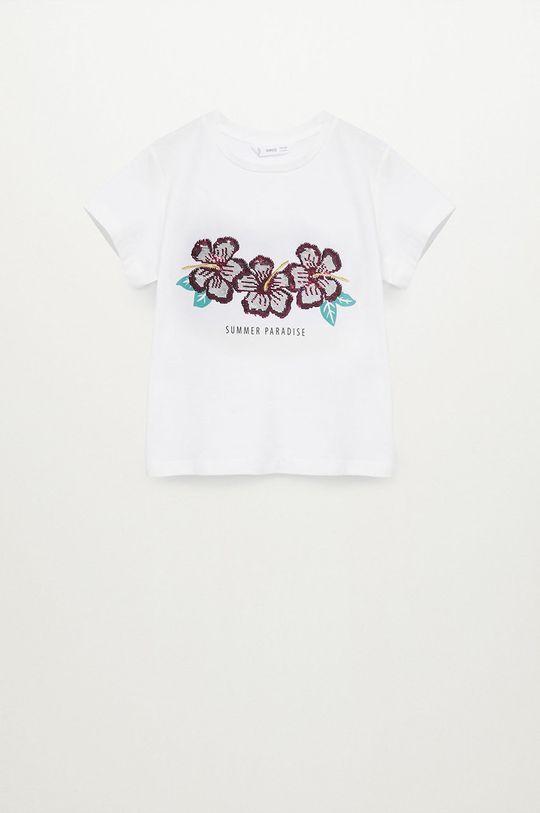 Mango Kids - T-shirt dziecięcy SEQUI Dziewczęcy