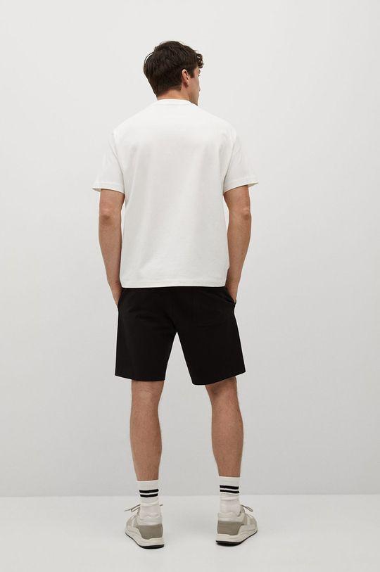 Mango Man - T-shirt HERA1 92 % Bawełna, 8 % Elastan