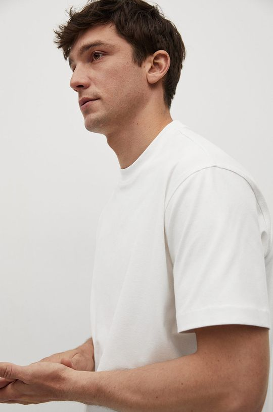 biały Mango Man - T-shirt HERA1