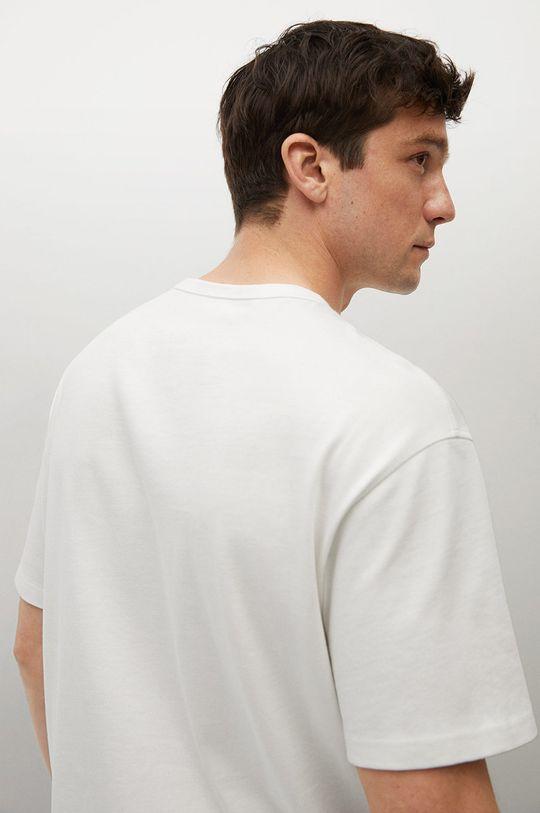 Mango Man - T-shirt bawełniany Anouk Męski