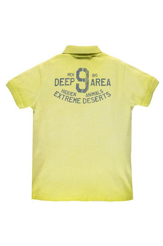 Mek - Dětské polo tričko 122-170 cm žlutě zelená