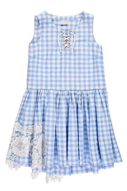jasny niebieski Mek - Sukienka dziecięca 140-170 cm Dziewczęcy