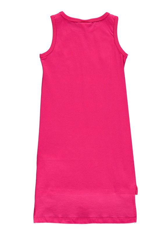 Mek - Dívčí šaty 122-128 cm ostrá růžová