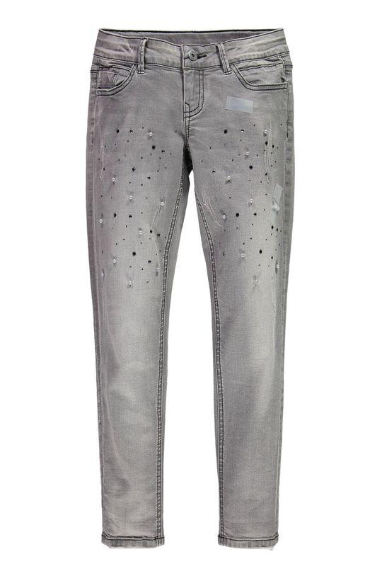 grafitová Mek - Dětské džíny 128-170 cm Dívčí