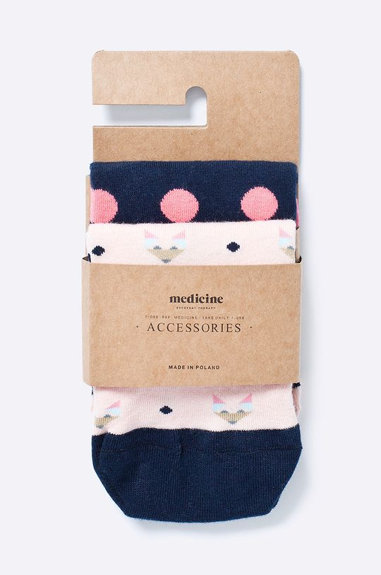 Medicine - Чорапки  75% Памук, 2% Еластан, 23% Полиамид