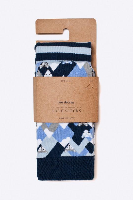 Medicine - Ponožky Ahoy Sailor  75% Bavlna, 2% Elastan, 23% Polyamid