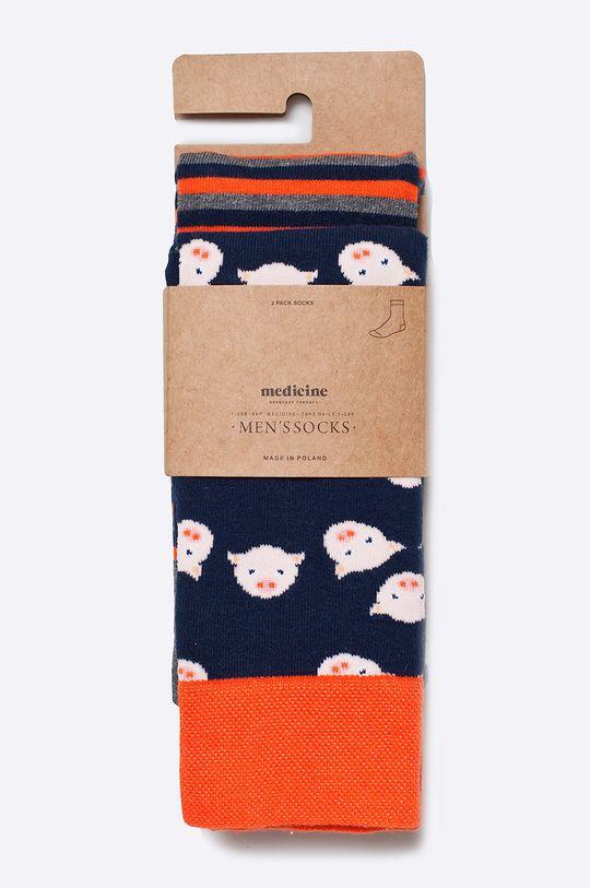 Medicine - Ponožky Ahoy Sailor (2-pack)  75% Bavlna, 2% Elastan, 23% Polyamid