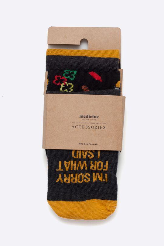vícebarevná Medicine - Ponožky Modern Staples (3-pack) Pánský