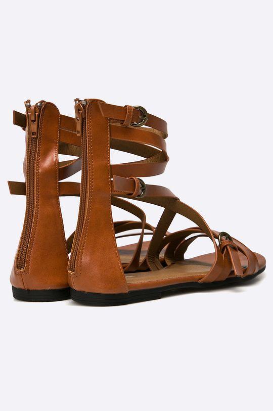hnědá Medicine - Sandály African Vibe