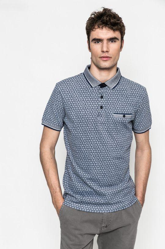 bleumarin Medicine - Tricou Polo Slow Future De bărbați