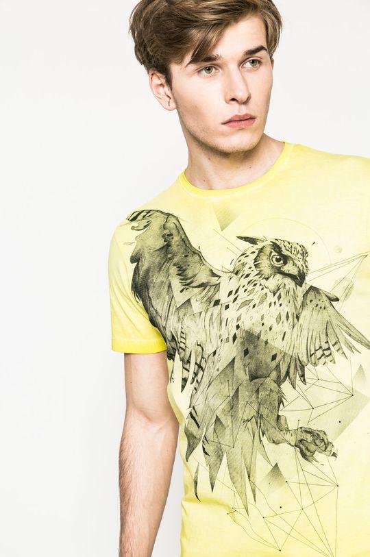 galben Medicine - Tricou Utility De bărbați