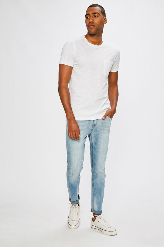 Medicine - T-shirt Desert Grunge biały