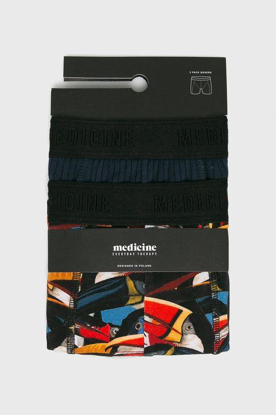 Medicine - Boxeralsó Basic (2 darab) többszínű