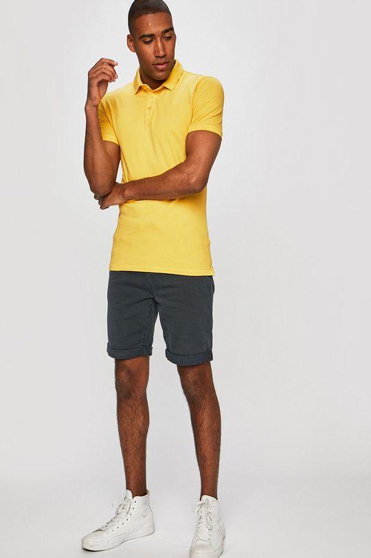 Medicine - Pánske polo tričko Basic žltá