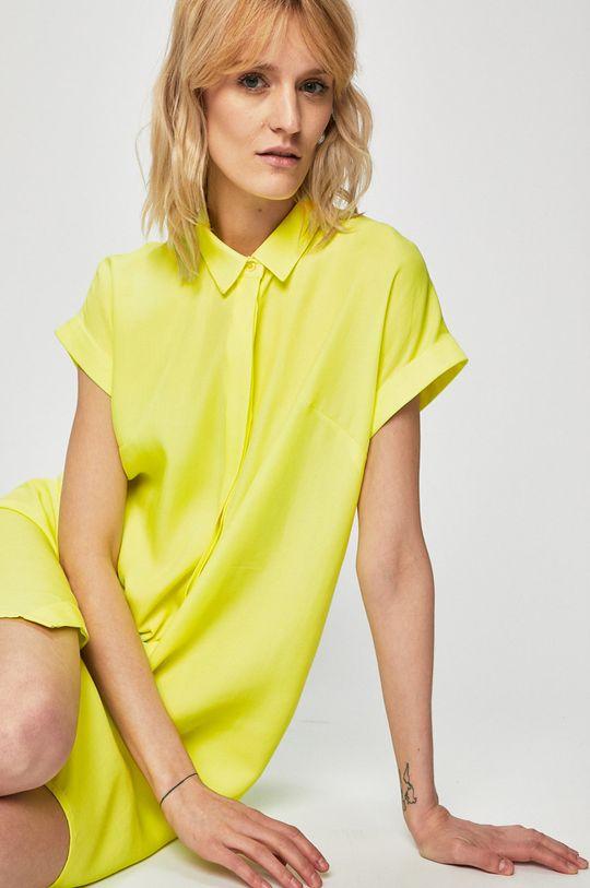 žlutě zelená Medicine - Šaty Summer Picnik Dámský