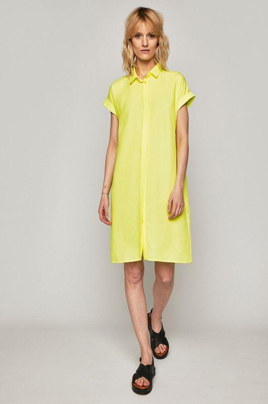 Medicine - Šaty Summer Picnik žlutě zelená