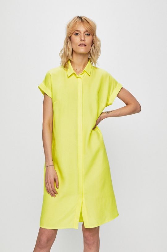 žlutě zelená Medicine - Šaty Summer Picnik