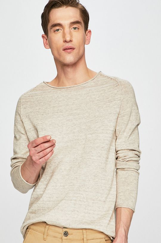 beżowy Medicine - Sweter Creative Formality