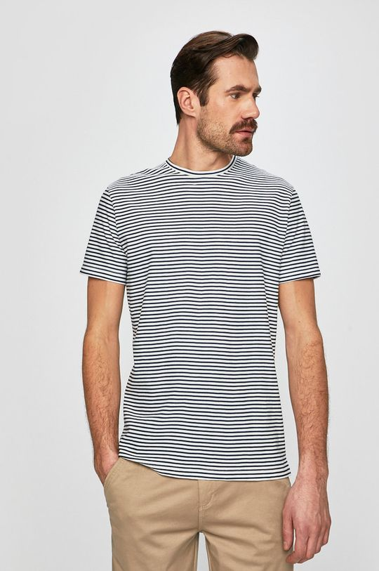 fehér Medicine - Póló Basic Férfi
