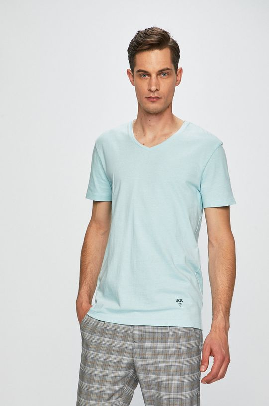 svetlomodrá Medicine - Pánske tričko Basic Pánsky