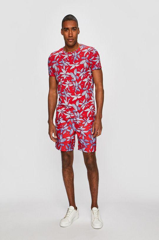 Medicine - T-shirt Tropical Infusion czerwony