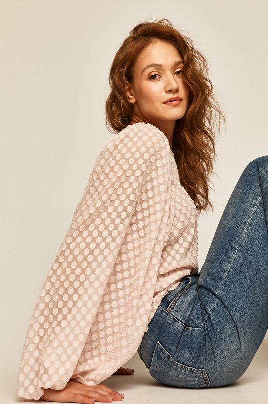 roz pastelat Medicine - Bluza Boho Breeze De femei