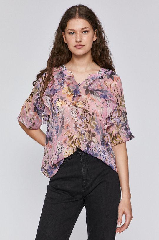 pastelowy różowy Medicine - Bluzka Pastel Bouquet
