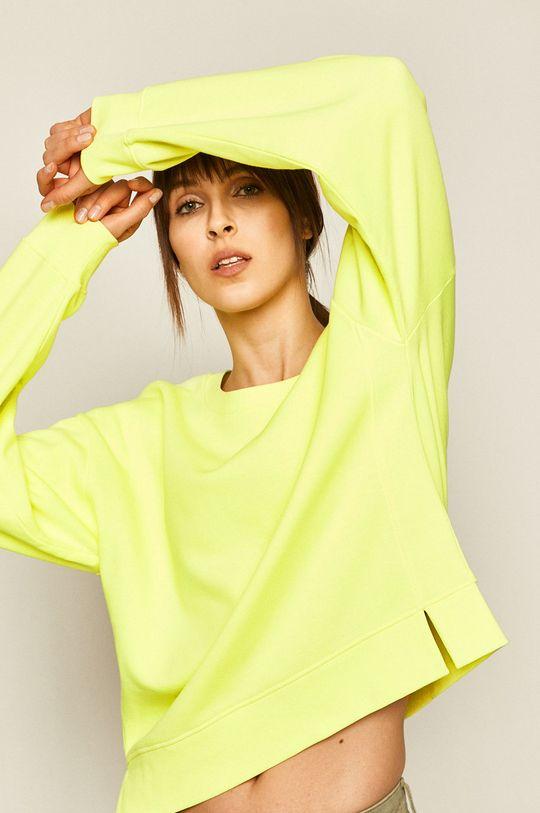 żółto - zielony Medicine - Bluza Basic Damski