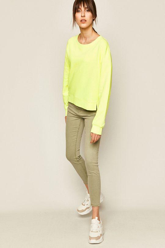 Medicine - Bluza Basic żółto - zielony
