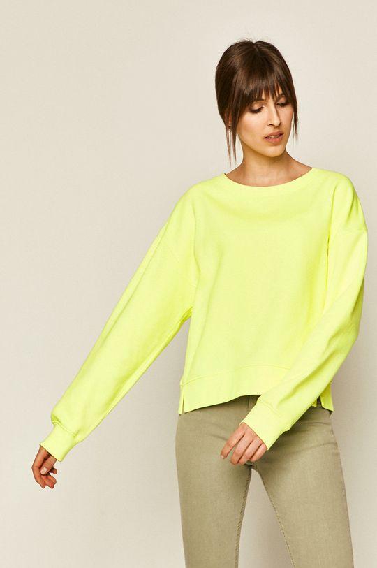 żółto - zielony Medicine - Bluza Basic