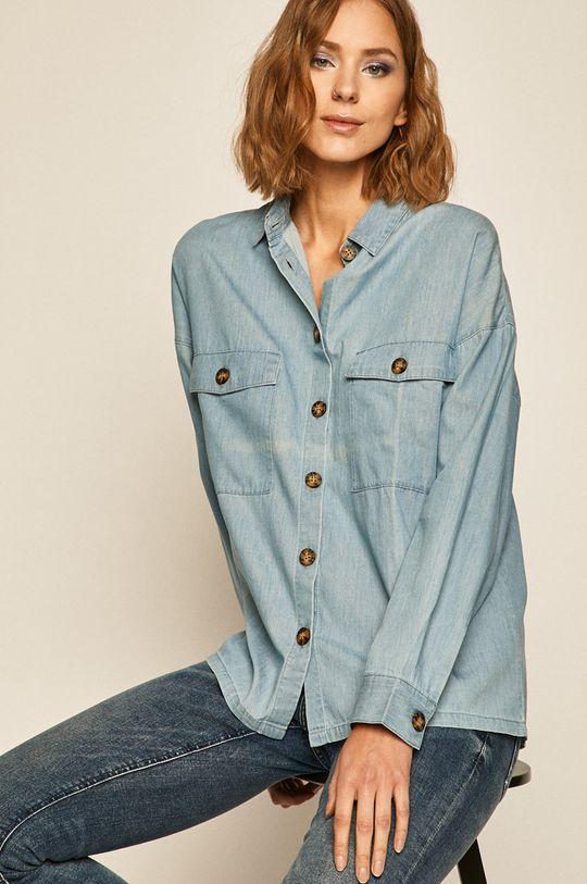 albastru pal Medicine - Camasa jeans Western Horizons De femei