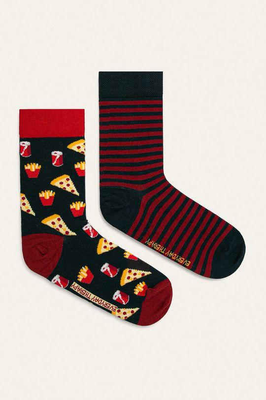 viacfarebná Medicine - Ponožky Basic (2 pak) Dámsky