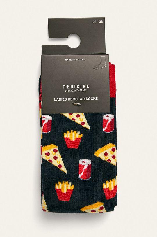 Medicine - Ponožky Basic (2 pak) viacfarebná