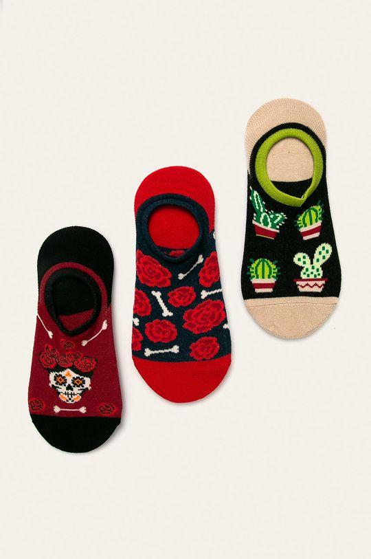 vícebarevná Medicine - Kotníkové ponožky Basic (3-pack) Dámský