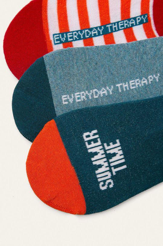Medicine - Kotníkové ponožky Basic (3-pack) 75% Bavlna, 2% Elastan, 23% Polyamid