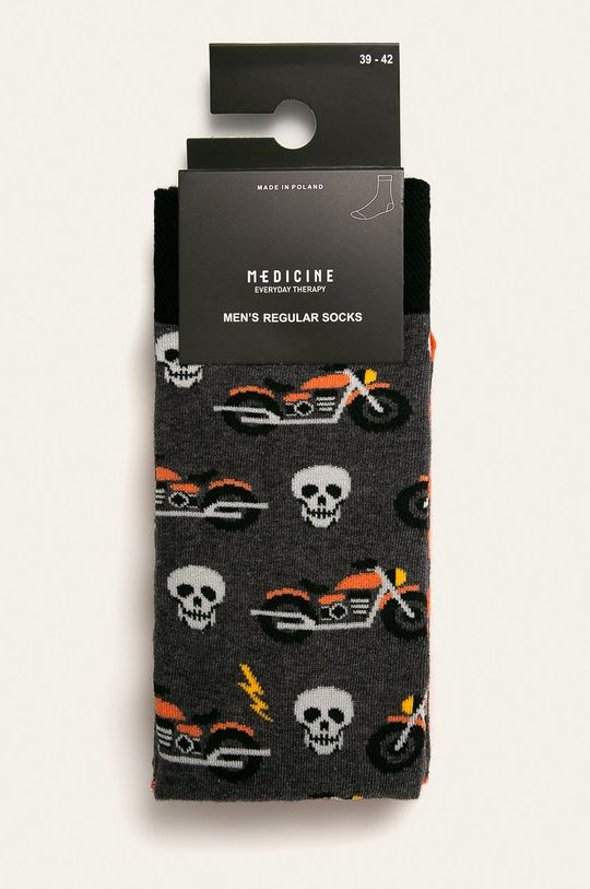 Medicine - Ponožky Basic (2-pak) viacfarebná