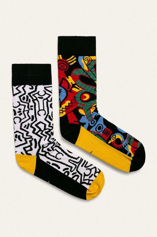 multicolor Medicine - Sosete by Keith Haring (2-pack) De bărbați