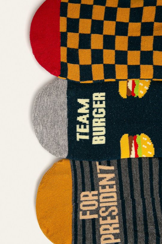 Medicine - Kotníkové ponožky Basic (3-pack) vícebarevná