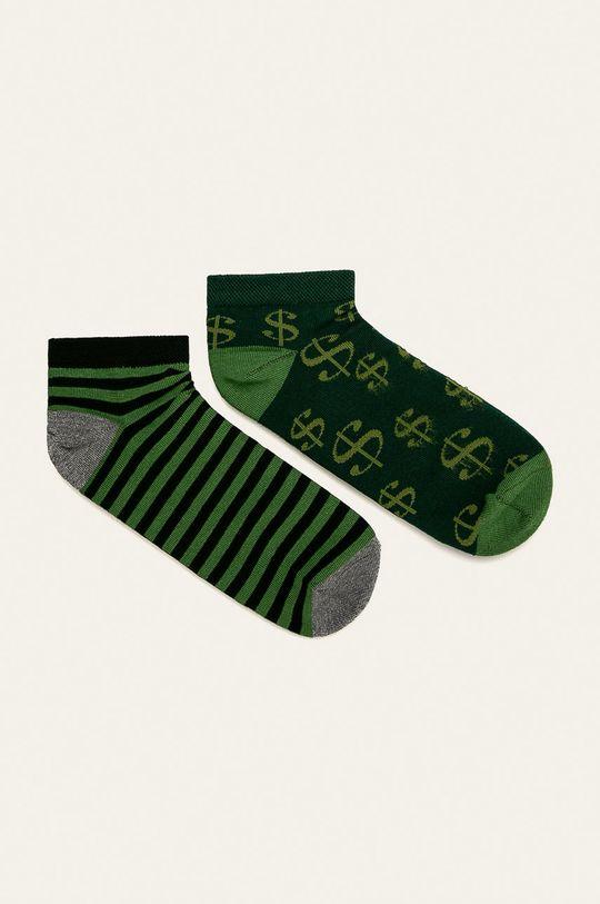 vícebarevná Medicine - Kotníkové ponožky Basic (2-pack) Pánský