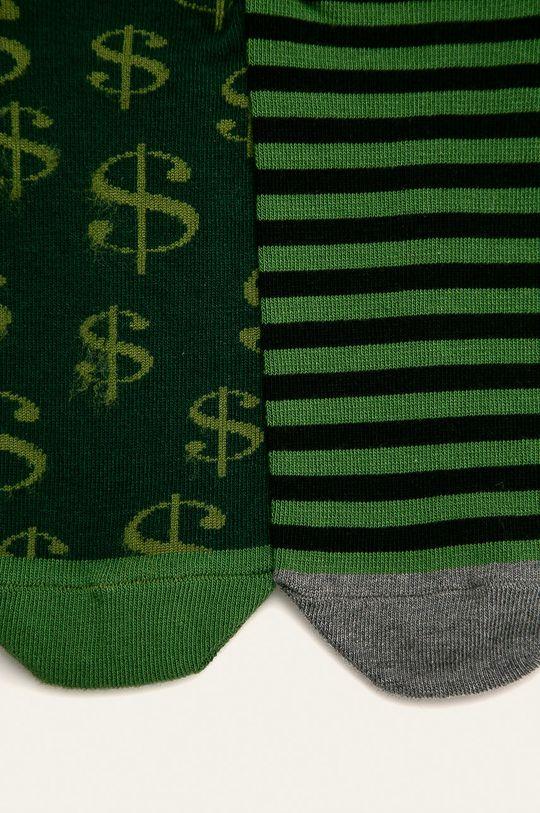 Medicine - Kotníkové ponožky Basic (2-pack) 75% Bavlna, 2% Elastan, 23% Polyamid