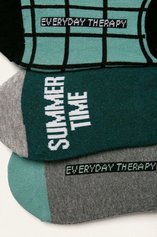 Medicine - Kotníkové ponožky Basic 75% Bavlna, 2% Elastan, 23% Polyamid