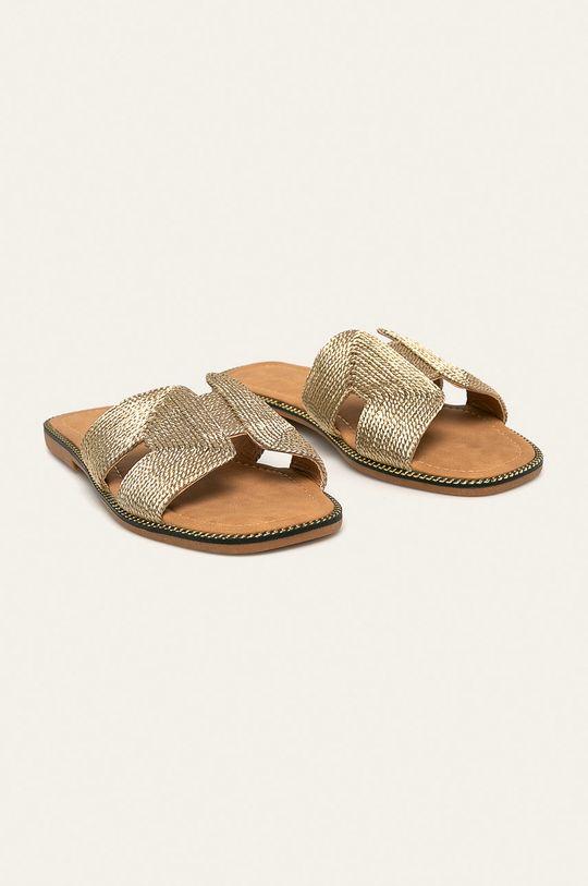 Medicine - Pantofle Soft Resort zlatá