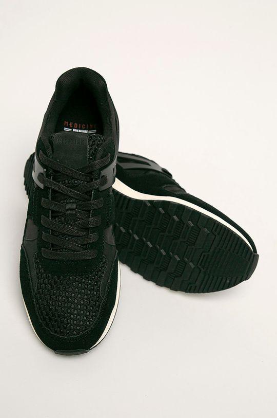 negru Medicine - Pantofi City Attitude