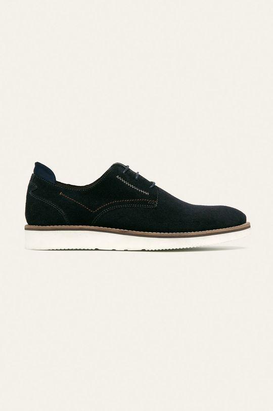bleumarin Medicine - Pantofi de piele Casual Utility De bărbați