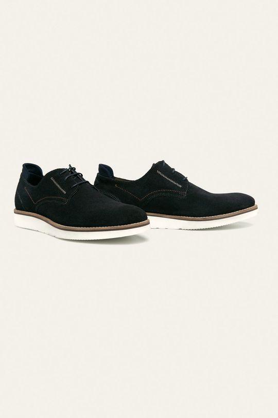 Medicine - Pantofi de piele Casual Utility bleumarin