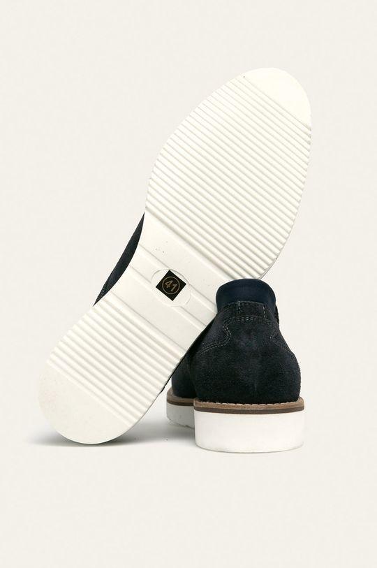 bleumarin Medicine - Pantofi de piele Casual Utility