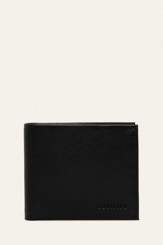 negru Medicine - Portofel de piele Basic De bărbați