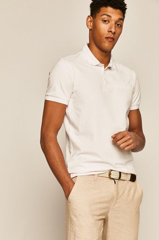 alb Medicine - Tricou Polo Basic De bărbați